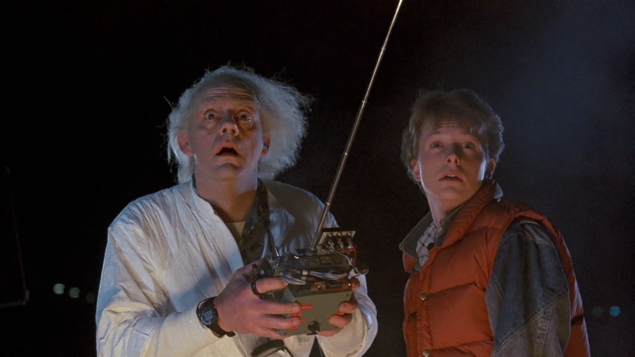 Back to the Future, Marty McFly, Doc Brown, Christopher Lloyd, Michael J. Fox