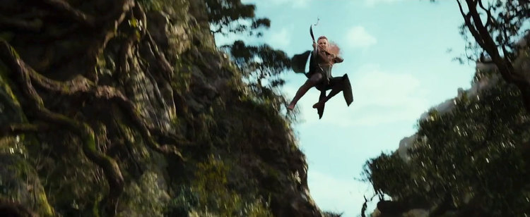 The Hobbit The Desolation of Smaug, Tauriel, Evangeline Lilly