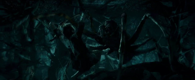 The Hobbit The Desolation of Smaug, Martin Freeman, Bilbo Baggins, Spiders of Mirkwood