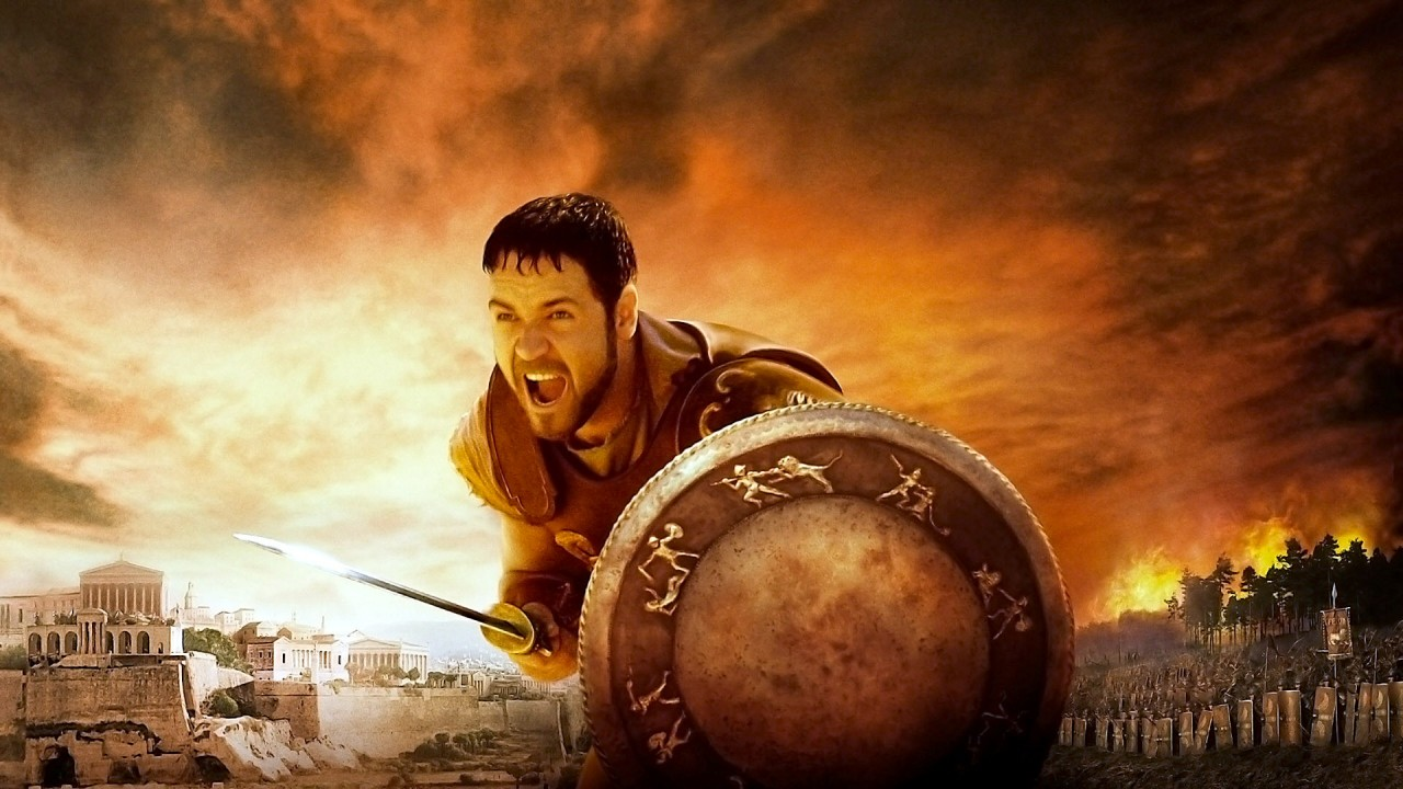 Russell Crowe, Gladiator, Maximus