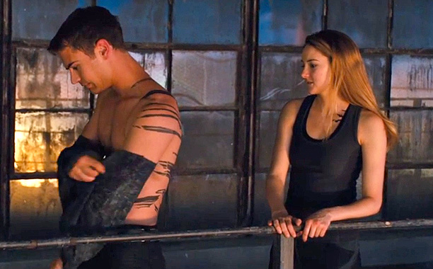 Movie Review Divergent 2014 Spoilers Killing Time