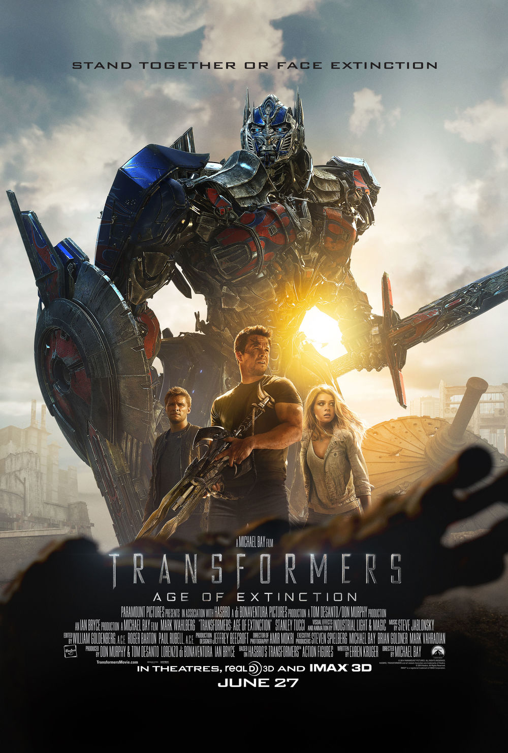 Transformers Age of Extinction, Optimus Prime