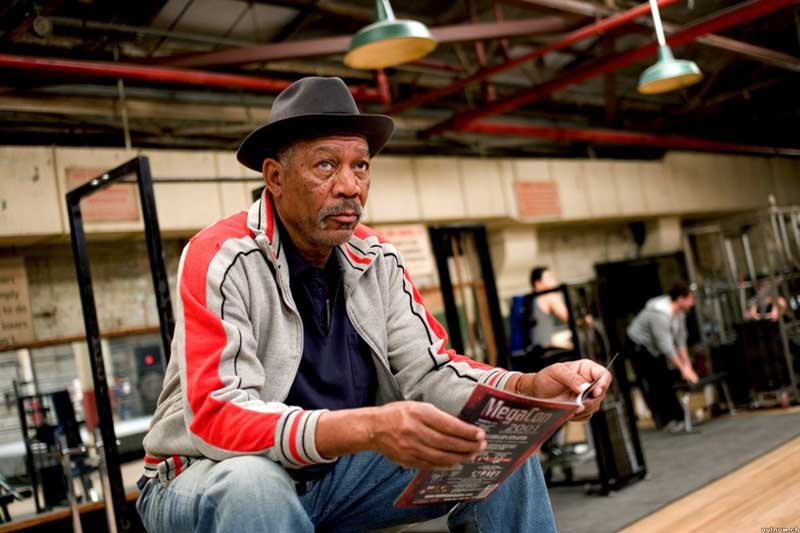 Million Dollar Baby, Morgan Freeman