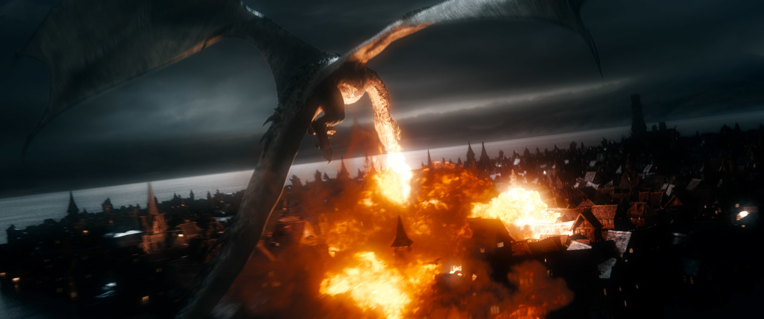 The Hobbit The Battle of the Five Armies, Smaug