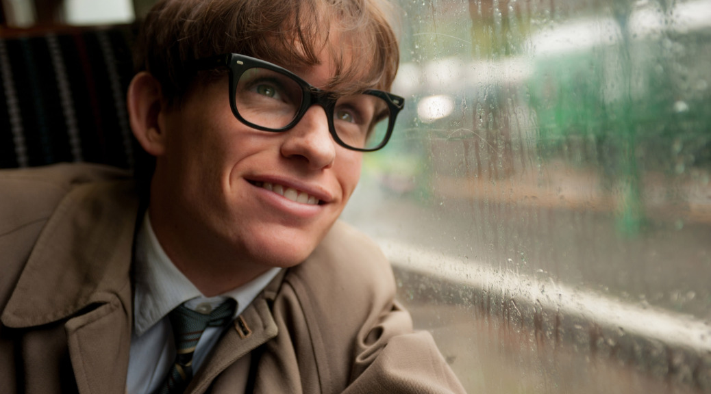 Eddie Redmayne, Stephen Hawking, The Theory of Everything