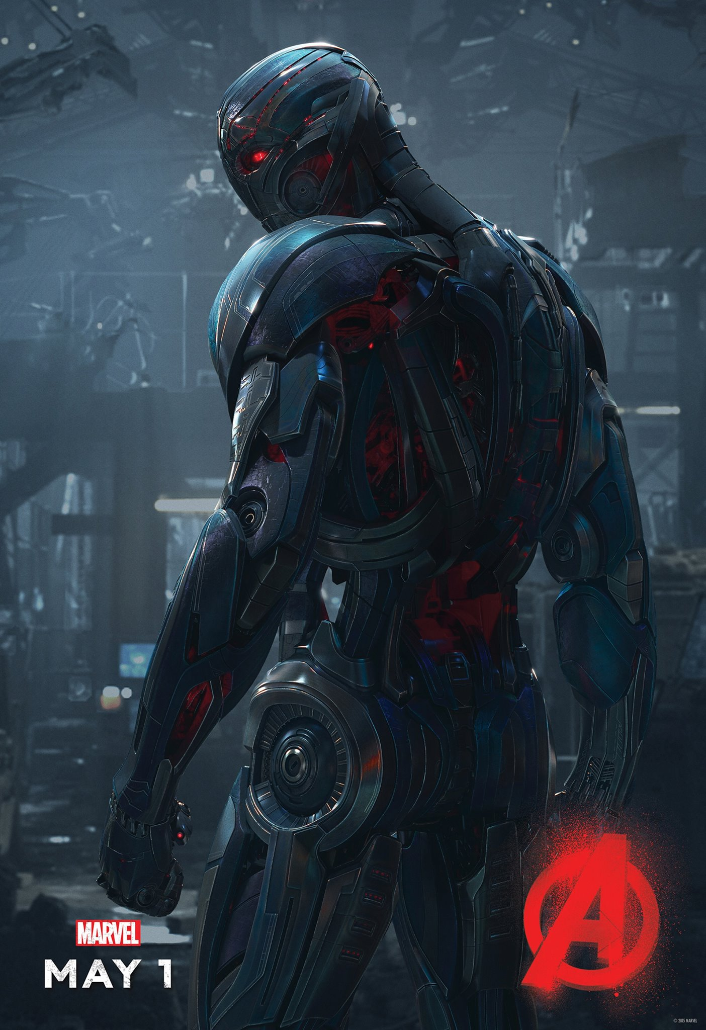 James Spader, Ultron, Avengers Age of Ultron