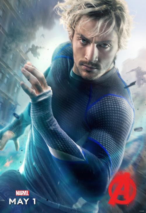 Quicksilver, Aaron Taylor Johnson, Avengers Age of Ultron