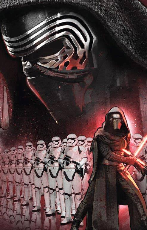 Star Wars, Star Wars Episode VII, Star Wars Episode VII: The Force Awakens, Star Wars Episode VII Art, Kylo Ren, Episode VII Villain, Stormtroopers