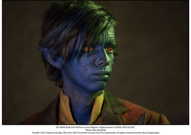 X-Men: Apocalypse, Nightcrawler