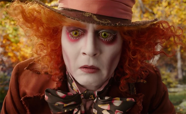 Mad Hatter, Johnny Depp, Alice Through the Looking Glass