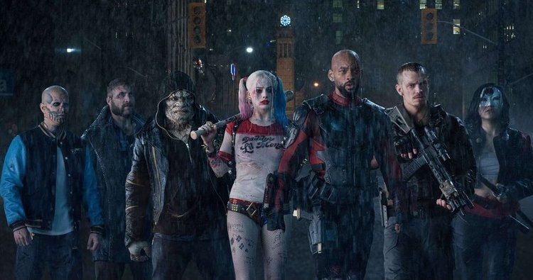 Margot Robbie, WIll Smith, Harley Quinn, Suicide Squad