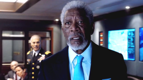 Morgan Freeman, London Has Fallen