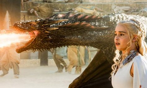 Emilia Clarke, Game of Thrones, Drogon