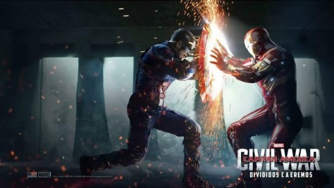 Captain America: Civil War, Iron Man, Captain America