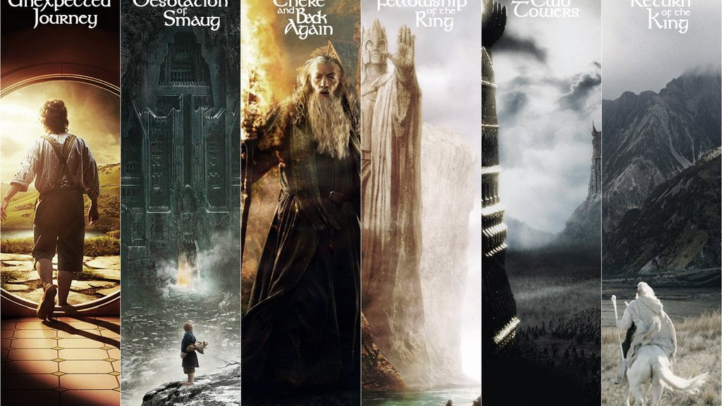 The Hobbit, The Lord of the Rings