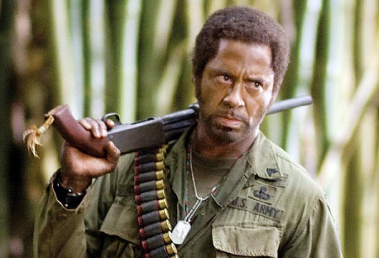 My Favorite Scene Tropic Thunder 2008 Sgt Lincoln Osiris I M A Dude Killing Time