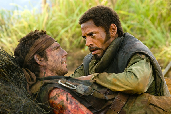 Robert Downey Jr., Sgt. Lincoln Osiris, Tropic Thunder, Ben Stiller