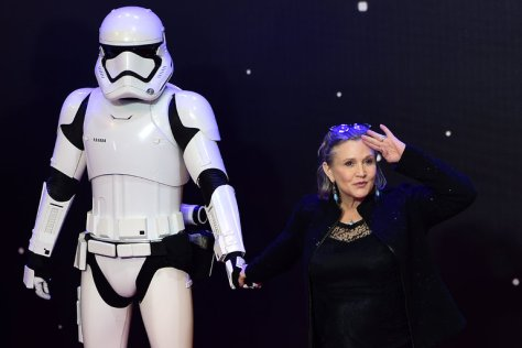 Star Wars, Carrie Fisher, Stormtrooper