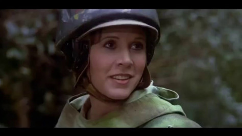 Princess Leia, Carrie Fisher, Return of the Jedi, Star Wars