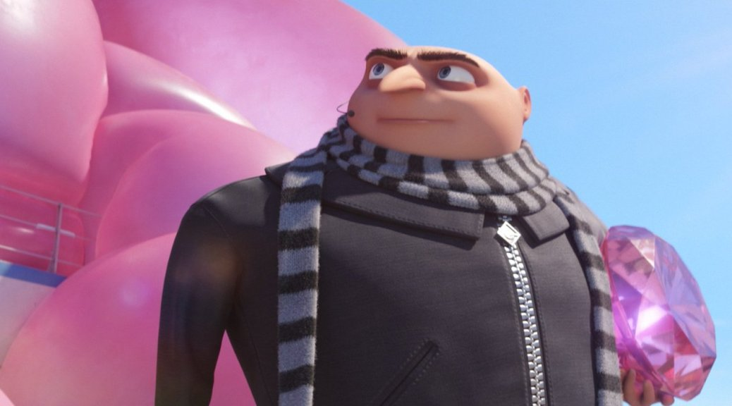 Gru, Steve Carrell, Despicable Me 3