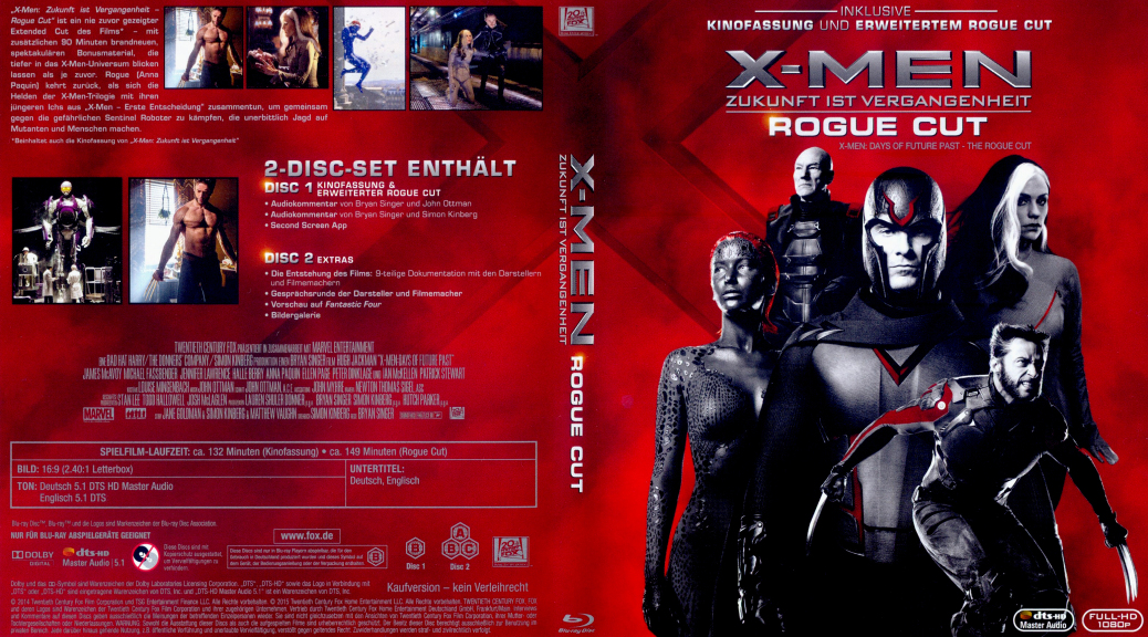 X-Men: Days of Future Past, X-Men Days of Future Past Rogue Cut