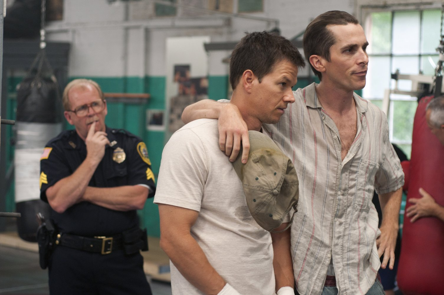 Christian Bale, The Fighter, Mark Wahlberg