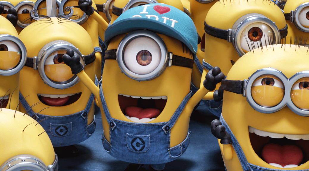 Minions in Despicable Me 3