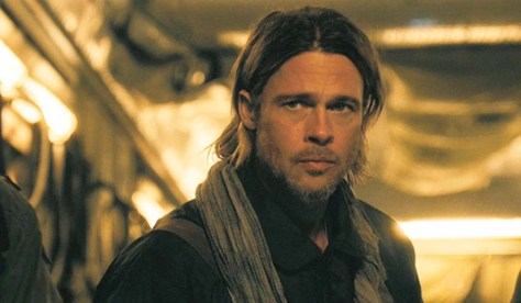 Brad Pitt in World War Z