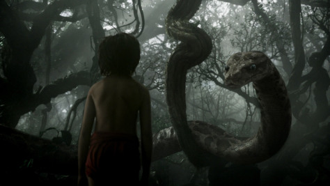 Scarlett Johansson as Kaa in The Jungle Book