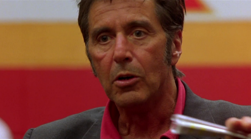 Al Pacino in Any Given Sunday
