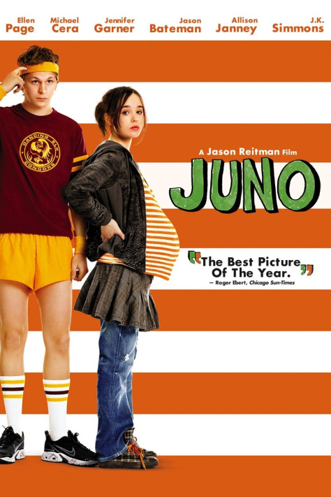 Ellen Page and Michael Cera in Juno
