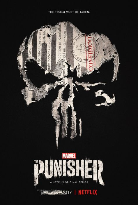 The Punisher Season One Poster