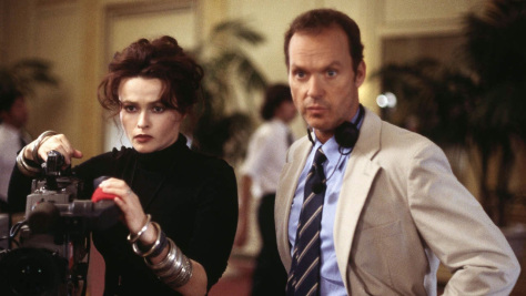 Helena Bonham Carter and Michael Keaton in Live From Baghdad
