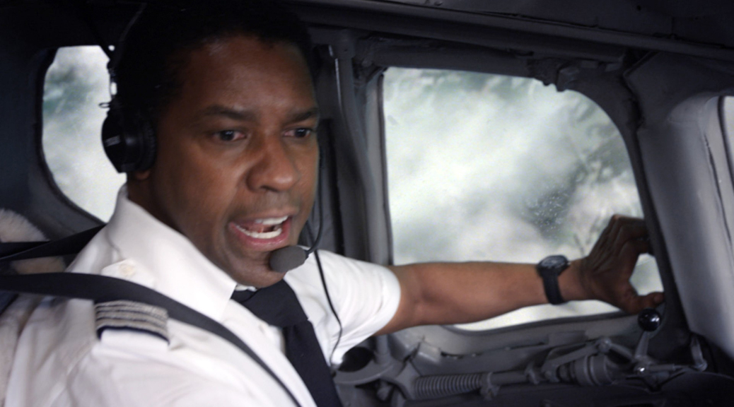 Denzel Washington in Flight