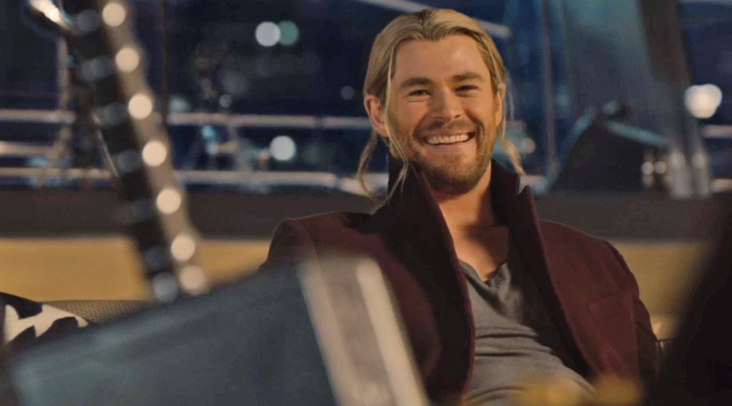 Chris Hemsworth in Avengers Age of Ultron