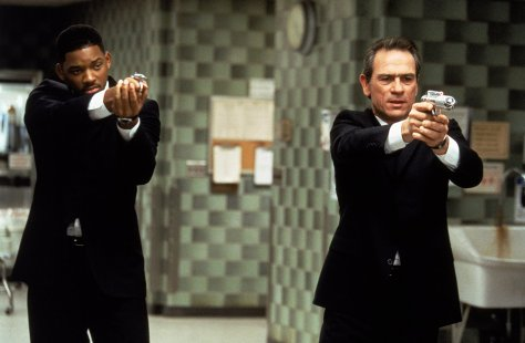 Will Smith and Tommy Lee Jones in Men in Black