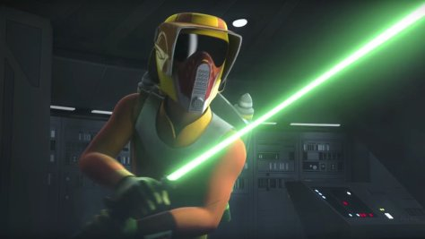 Ezra Bridger in Star Wars: Rebels
