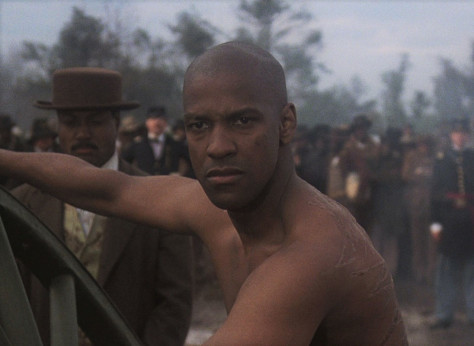 Denzel Washington in Glory