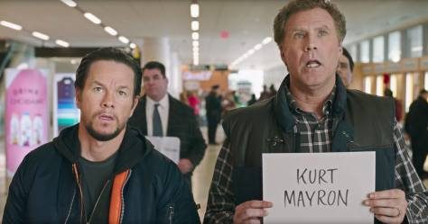 Mark Wahlberg and Will Ferrell in Daddy's Home 2