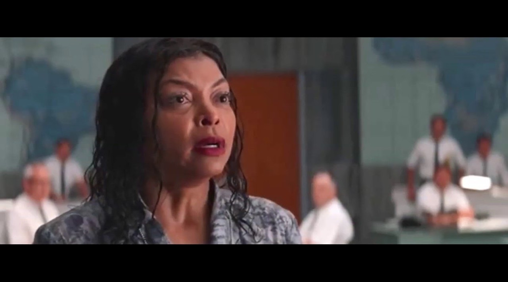 Taraji P. Henson in Hidden Figures