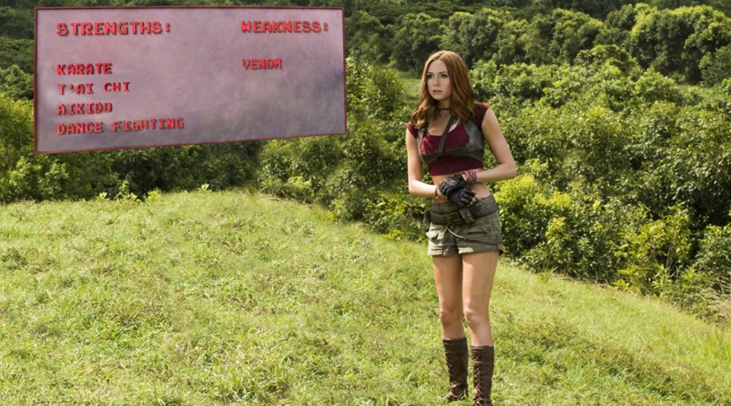 Karen Gillan in Jumanji: Welcome to the Jungle