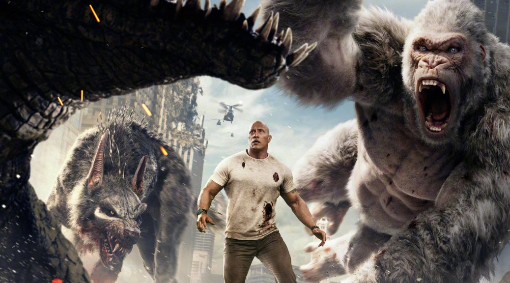 Rampage Trailer 1 2018 Big Meets Bigger Killing Time