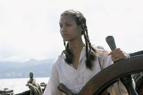 Zoe Saldana in Pirates of the Caribbean: The Curse of the Black Pearl