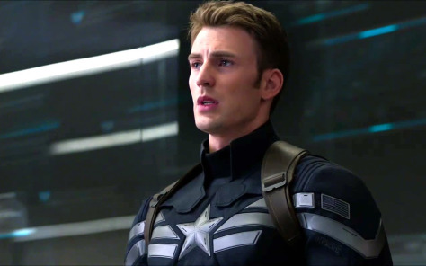 Chris Evans in Captain America: Winter Soldier