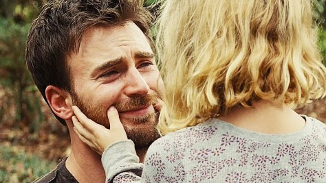 Chris Evans and McKenna Grace in Gifted