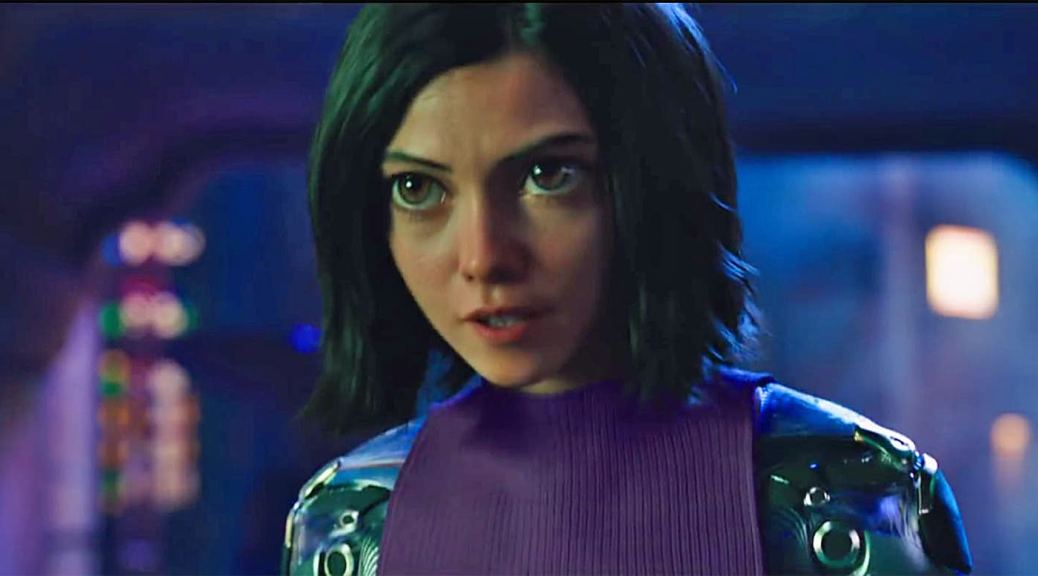 Rosa Salazar in Alita: Battle Angel